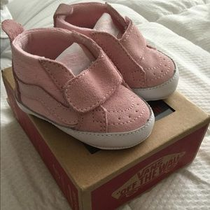 Pink Infant Hightop Vans